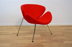 Vintage Orange Slice F 437 Stuhl von Pierre Paulin für Artifort bei Pamono kaufen