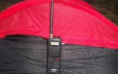 October Overnight Radio Scanner Session and Wild Camp  http://scannerheaven.com  #radioscanner