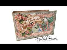 Sweet Sentiments mini album by Danielle #graphic45