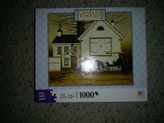 Charles Wysocki Americana Justice of the Peace Jigsaw Puzzle 1000 piece NIB