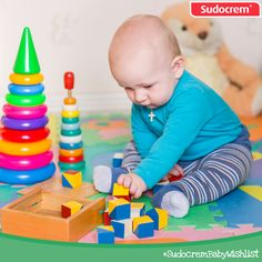 A selection of toys for your little one! #SudocremBabyWishlist