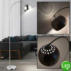 RGB LED Retro Steh Lampe Fernbedienung Farbwechsel Wohnraum Stand Big Light