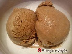 Παγωτό σοκολάτας της Χωριάτισσας #sintagespareas