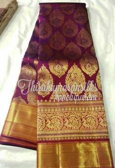 Stunning Berry Shaded Kanjivaram from Thirukumaransilks