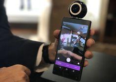 #LyfieEye, la nuova #videocamera per gli #smartphone a 360 gradi! Ci si collegherà direttamente al telefono senza Bluetooth!  Leggi tutto qui: