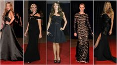 Black Was The Color At The White House Correspondents' Dinner Red Carpet