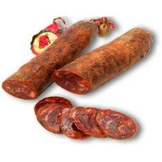 250 gr. de chorizo, otro producto típico de España.