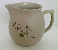 pigeon forge pottery dogwood pitcher