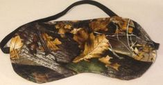 New Mossy Oak CAMO SLEEP MASK Eye Sleepwear Bedroom by Sewkrissy