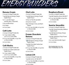 Weight loss shake recipes, body by vi shakes, ViSalus vi-shape nutritional shake mix recipes. Lose weight fast!
