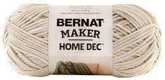 Amazon.com: Bernat Maker Home Dec Yarn - (5) Bulky Chunky Gauge - 8.8 oz - Maker Home Decor - Cream - For Crochet, Knitting & Crafting