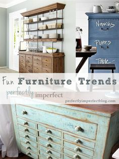 Furniture Trends | perfectly imperfect | painted furniture