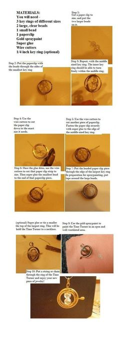 How to make a Time-Turner- Harry Potter Club