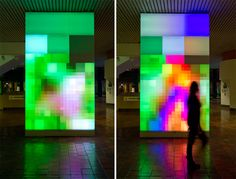 ivan toth depena: reflection installation at miami government center
