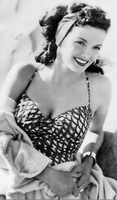 Jane Russell she died on .February 28th 2011 beautiful lady