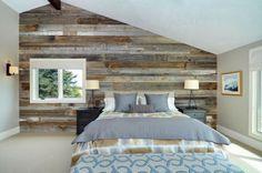 Revestimientos de madera reciclada. Inspiración Espacios en madera