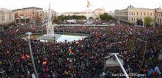 #22M – Dos millones de personas en una demostración de Dignidad   Marchas de la dignidad
