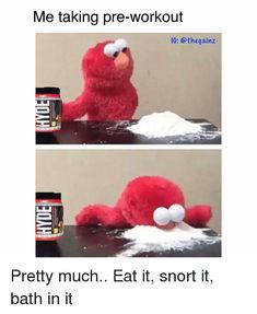 Can You Snort Pre Workout : snort, workout, Memes, Ideas, Memes,, Workout, Humor