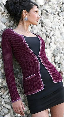 Stitch Diva No. 6 Chanel Jacket Pattern at Dream Weaver Yarns LLC