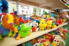 Selection of toys at Ireland's Once Upon A Child