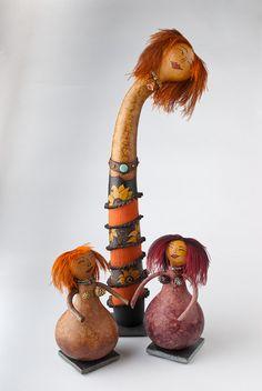 Gourd art sculpture