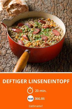 Deftiger Linseneintopf - smarter - Kalorien: 366.86 Kcal - Zeit: 20 Min. | eatsmarter.de