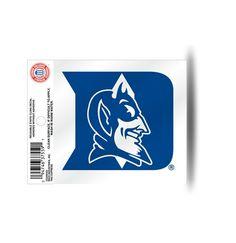 Duke Blue Devils Static Cling Sticker NEW!! Window or Car! NCAA