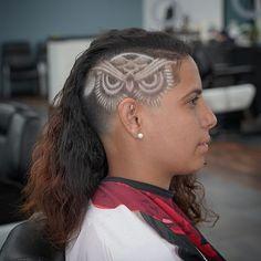 Haircut Designs For Men, Medium Hair Styles, Short Hair Styles, Hair Tattoo Designs, Undercut Hairstyles, Undercut Pompadour, Undercut Hair Designs, Shaved Hair Designs, Album Design