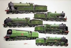 The showcase site for the creative work of WD, GS, and DP Cooper Transport Pictures, Heritage Railway, Foto Top, Train Posters, Southern Railways, Train Art, Old Trains, British Rail, Train Pictures