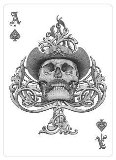 Ace of Spades by Bartosz Kosowski