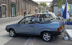https://flic.kr/p/DKaV6s | Lada Samara 'Natacha' 1.5 convertible by EBS (Belgium, 1992-96)