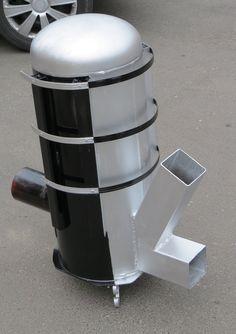 stufa razzo ANDRZEJ Rocket Stove Design, Diy Rocket Stove, Rocket Mass Heater, Rocket Stoves, Pellet Heater, Stove Heater, Stove Oven, Survival Stove, Homestead Survival