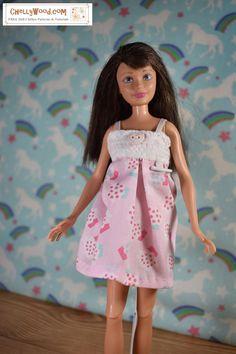 2 Santa Hat for Your Barbie~*~Also Fit Ken Francie Skipper Kelly Set of