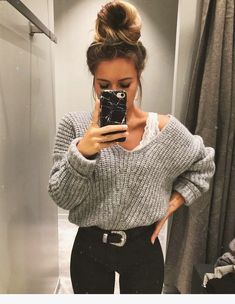 50 Beautiful Weekend Casual Outfits For Women - Mode ❤️ - Fall outfits Look Fashion, Fashion Models, Winter Fashion, Fashion Outfits, Fashion Trends, Womens Fashion, Fashion Clothes, Runway Fashion, Fashion 2016