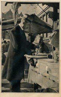 Amsterdam markt  Uilenburg 1931