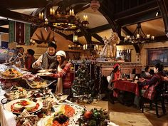 Hong Kong Disneyland Christmas Fantasy - Christmas Dinner Buffet at Royal Banquet Hall  Picutre 13