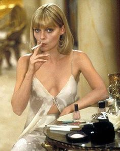"""57 Likes, 1 Comments - ♈ (@aries.mood) on Instagram: """"Michelle Pfeiffer // Scarface"""""""