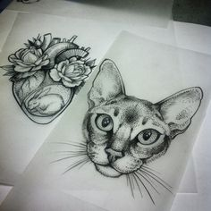 Alex Tabuns @alex_tabuns #cat #catart #d...Instagram photo   Websta (Webstagram)