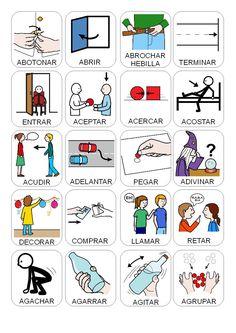 Pecs Pictures, Spanish, Language, Teaching, School, Autism Education, Speech Therapy, Audio, Speech Pathology