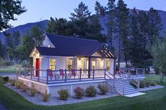 Lake Blaine Mountain Resort - in Montana.