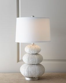 Stacked Sea Urchin Lamp