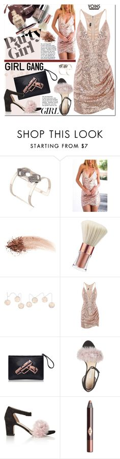 """Yay! It's Galentine's Day"" by j-sharon ❤ liked on Polyvore featuring NARS Cosmetics, Victoria's Secret, Murphy, Bionda Castana, Charlotte Tilbury, women's clothing, women, female, woman and misses"