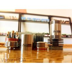The Vulcan RDA ! A very functional RDA that has 24k played stock screws on the posts, a deep drip well, and a removal top cap to make dripping cleaner! On the other hand, it is a very affordable authentic RDA... Call 661 255 VAPE for pricing and info! #modporn #vapeporn #coilporn #subohm #vaper #vapesex #scvvapers #handcheck #scvvape #notaclone #cloudchasing #vape #chuckingthevape #boxmods #smokingkills #calivapers #socalvapes #chasingclouds #handsomevape #improof #tootlyfe #tootlife ...
