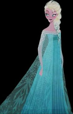 Elsa the Snow Queen from Frozen, would be fun and pretty