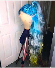 White Label Hair in Blonde Body Wave dyed bundles) Frontal Hairstyles, Baddie Hairstyles, Weave Hairstyles, Teen Hairstyles, Casual Hairstyles, Medium Hairstyles, Latest Hairstyles, Ashy Brown Hair, Blue Hair