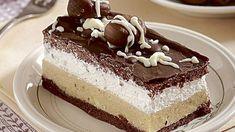 Dezert bez múky: Gaštanové rezy krok za krokom - Pluska.sk Czech Recipes, Ethnic Recipes, Dessert Recipes, Desserts, Vanilla Cake, Tiramisu, Cheesecake, Paleo, Health Fitness