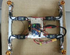 Arduino UNO is used as the control Board or Flight controllerof this Quadcopter.These Motors are connected to speed controllers Buy Quadcopter Kit(Arduino,Ba...