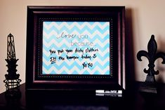 """""""I Love You Because"""" Printable: A Last Minute Valentine's Day Gift Idea"""