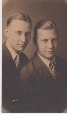Roy and Bill Ellingson