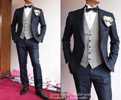 Style by mr. Mens Attire, Groom Attire, Groom And Groomsmen, Groom Dress, Tuxedo Wedding, Wedding Men, Wedding Suits, Wedding Dresses, Party Fashion
